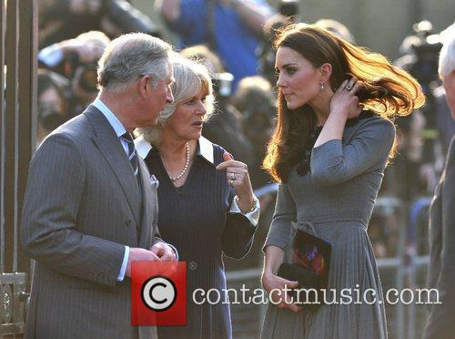 Duchess, Kate Middleton, Prince Charles and The Duchess Of Cornwall 16