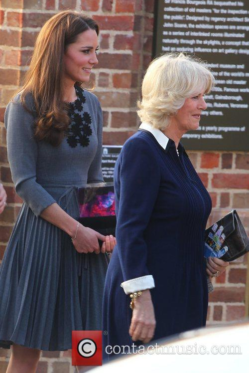 Kate Middleton and The Duchess Of Cornwall 2