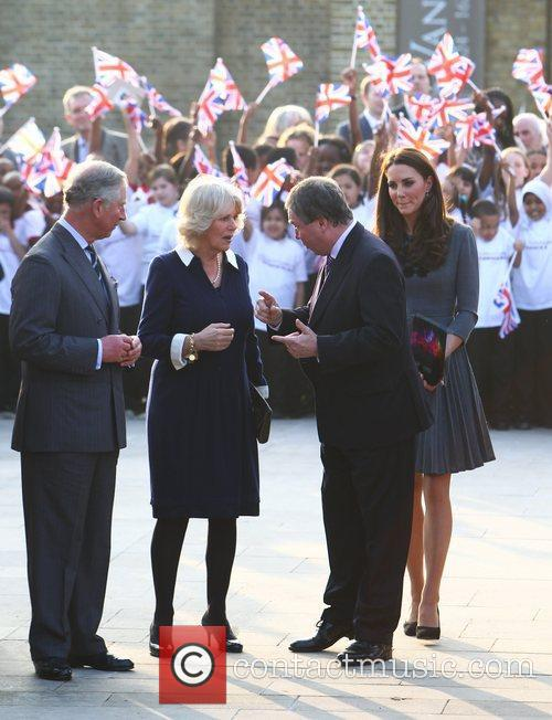Duchess, Kate Middleton, Prince Charles and The Duchess Of Cornwall 18