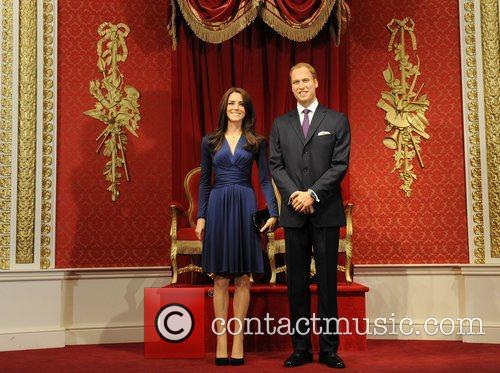 Madame Tussauds, Duchess, Kate Middleton and Prince William 12