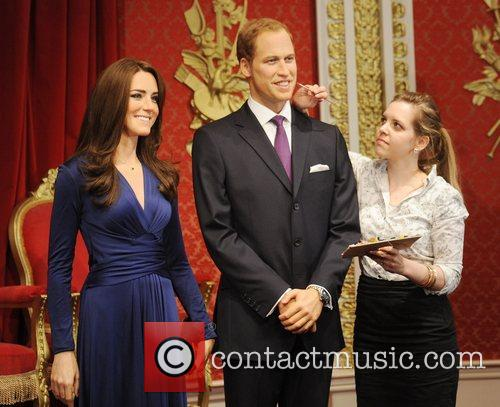 Madame Tussauds, Duchess, Kate Middleton and Prince William 13