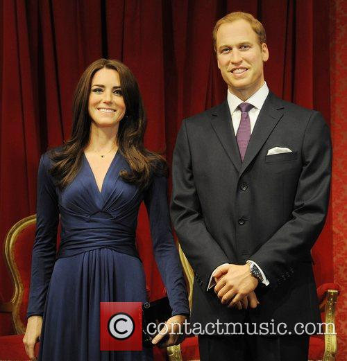 Madame Tussauds, Duchess, Kate Middleton and Prince William 15
