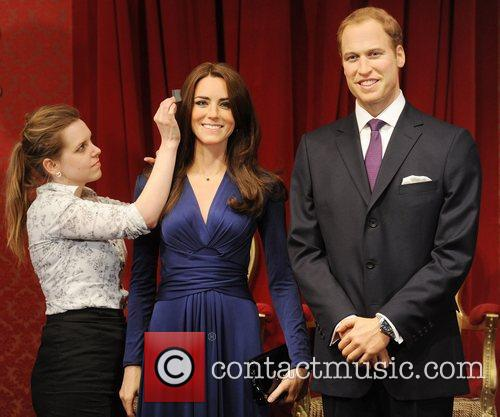 Madame Tussauds, Duchess, Kate Middleton and Prince William 17