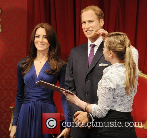 Madame Tussauds, Duchess, Kate Middleton and Prince William 18