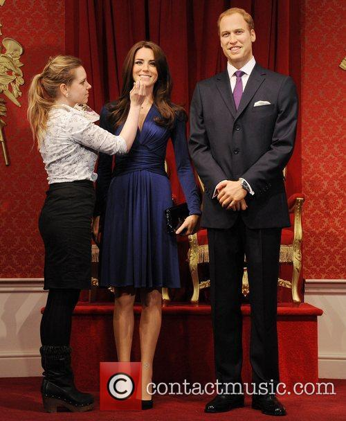 Madame Tussauds, Duchess, Kate Middleton and Prince William 21