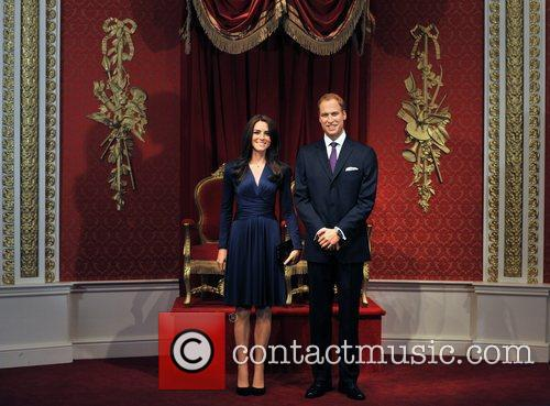 Madame Tussauds, Duchess, Kate Middleton and Prince William 11