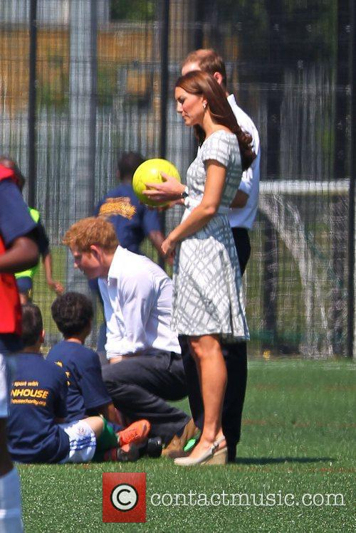 Kate Middleton, Prince Harry and Prince William 3