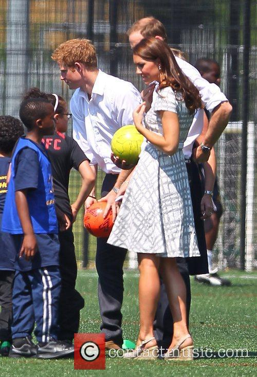 Prince Harry, Kate Middleton and Prince William 2