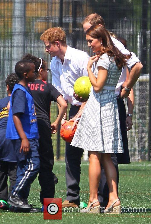 Prince Harry, Kate Middleton and Prince William 3