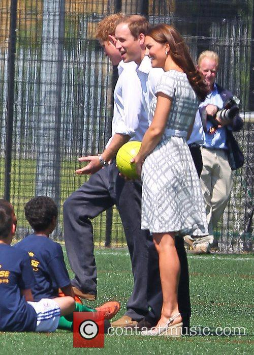 Prince Harry, Kate Middleton and Prince William 4