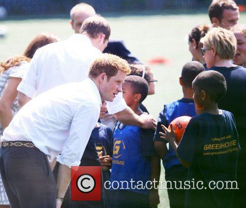 prince harry at bacons college london england   260712 4008601