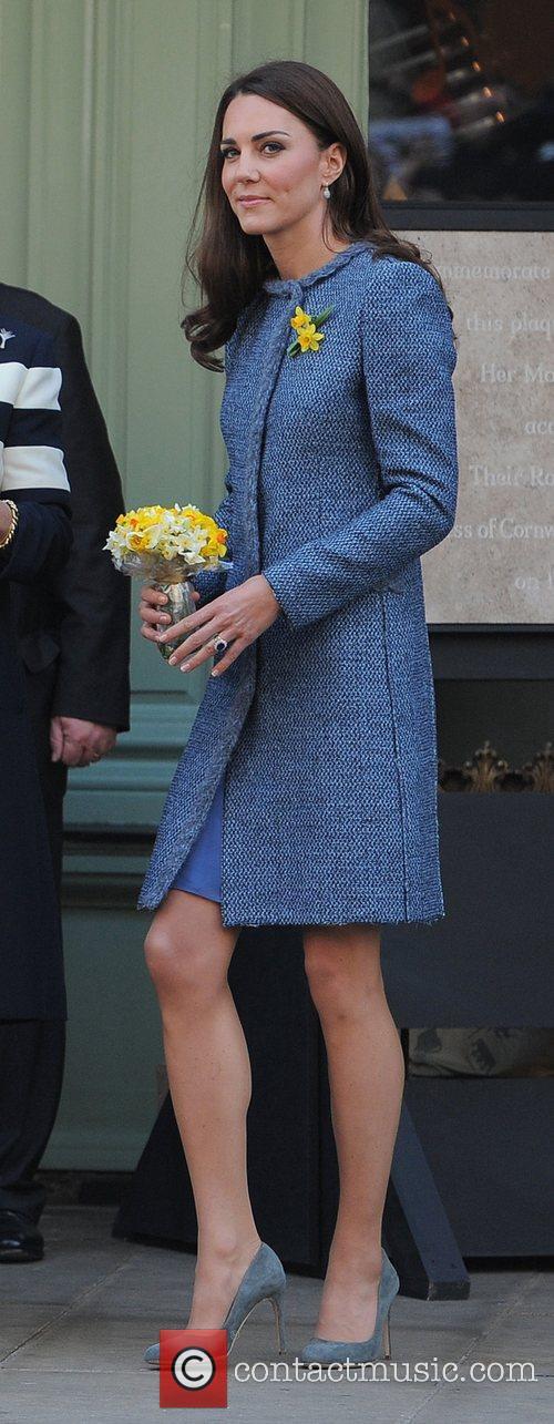 Catherine, Duchess of Cambridge, aka Kate Middleton...