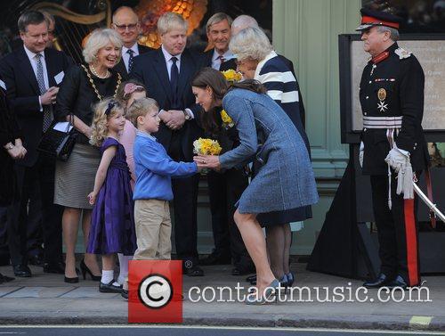 Mayor of London Boris Johnson, Camilla, Duchess of...