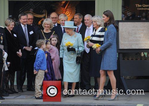 Mayor of London Boris Johnson, Queen Elizabeth II,...