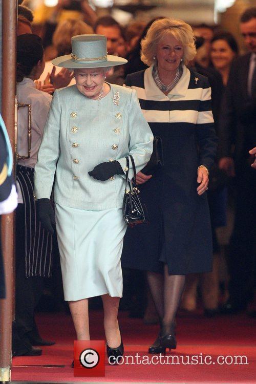 Queen Elizabeth II, and Camilla, Duchess of Cornwall...