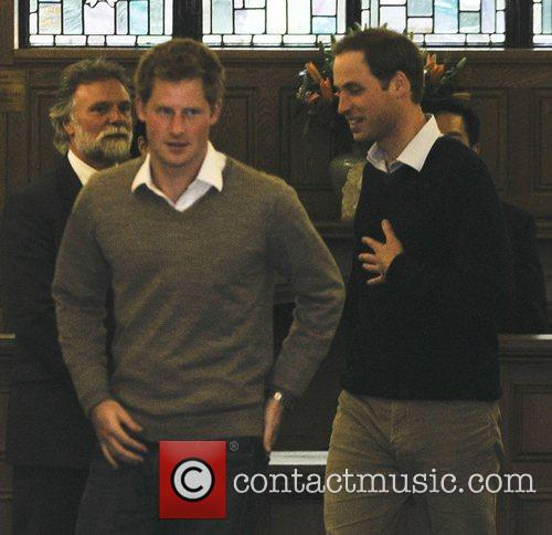 Prince Harry and Prince William 2