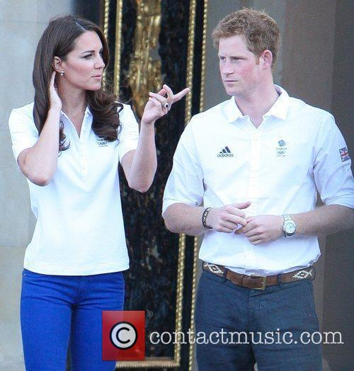 Kate Middleton and Prince Harry 2
