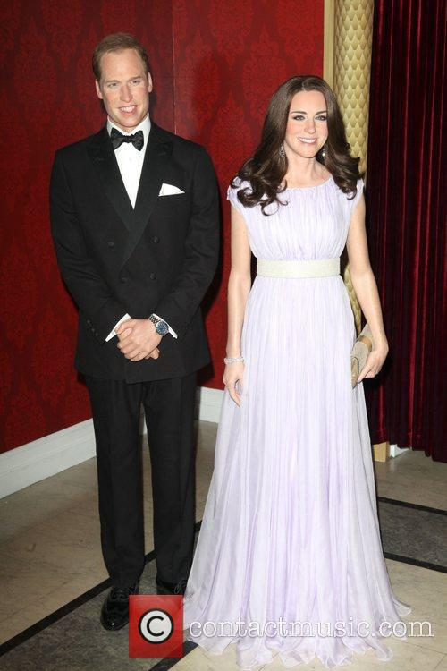 Madame Tussauds, Duchess, Kate Middleton and Prince William 2