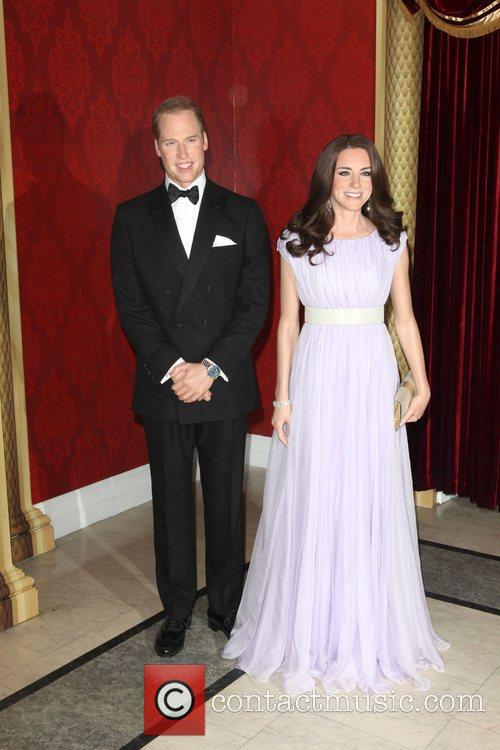 Madame Tussauds, Duchess, Kate Middleton and Prince William 3