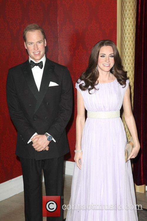 Madame Tussauds, Duchess, Kate Middleton and Prince William 4