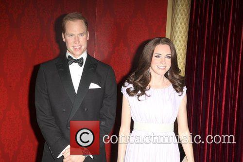 Madame Tussauds, Duchess, Kate Middleton and Prince William 5
