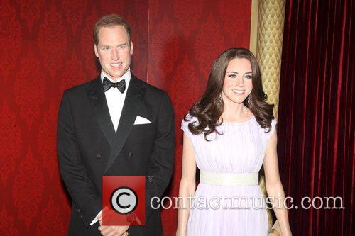 Madame Tussauds, Duchess, Kate Middleton and Prince William 6