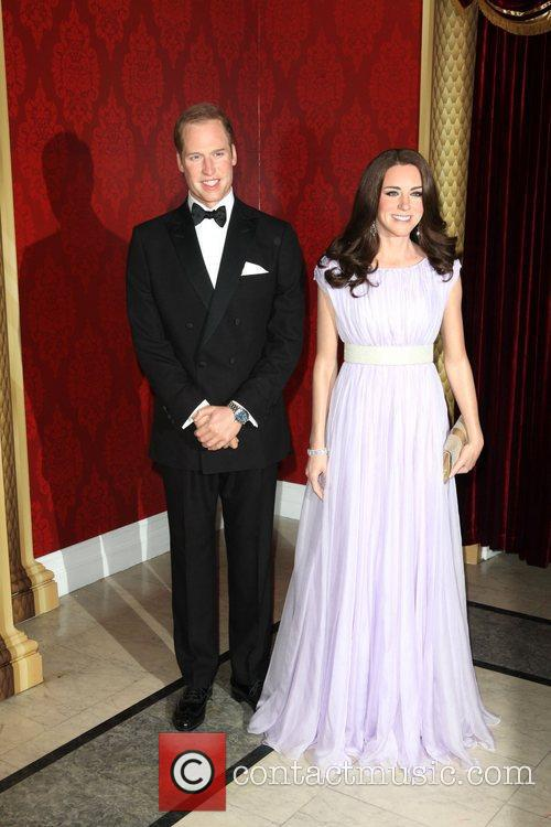 Madame Tussauds, Duchess, Kate Middleton and Prince William 9