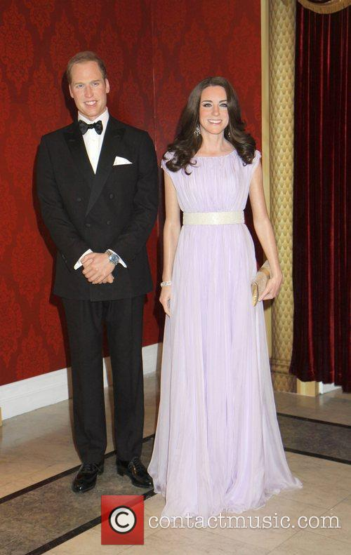 Madame Tussauds, Duchess, Kate Middleton and Prince William 10
