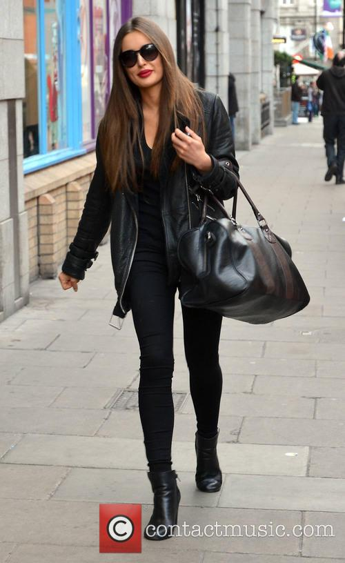 Irish model Rozanna Purcell out and about near...