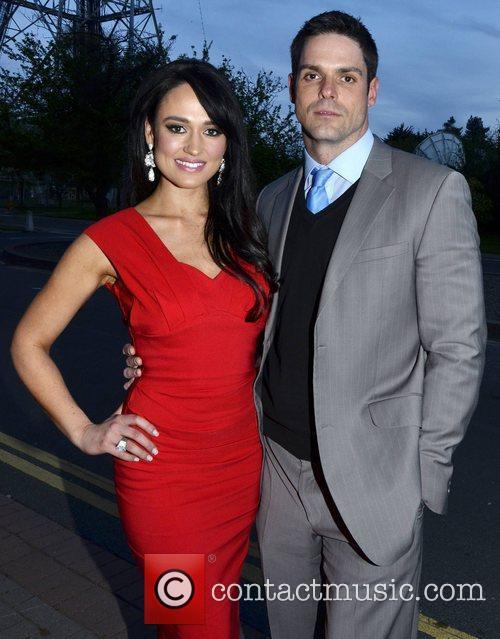Maire Hughes, boyfriend Stephen O'Connor  outside the...