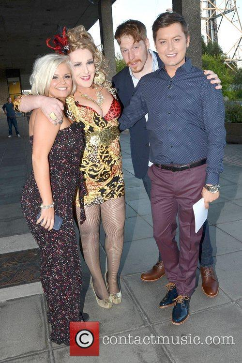 Kerry Katona, Katherine Lynch, Martin Maloney and Brian Dowling 5