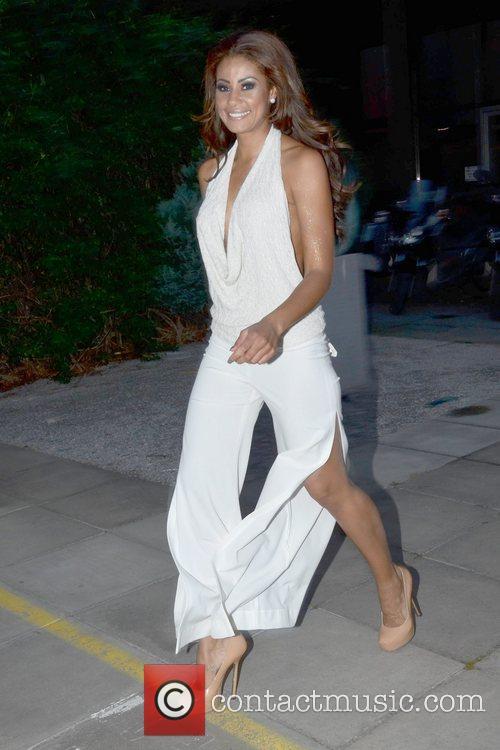 Layla Flaherty Celebrities arrive at  Katherine Lynch's...