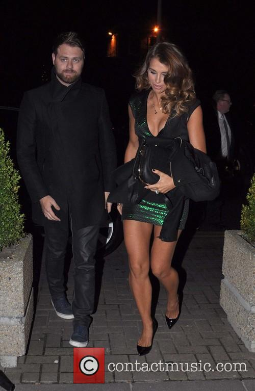 Brian McFadden and Vogue Williams; who are both...