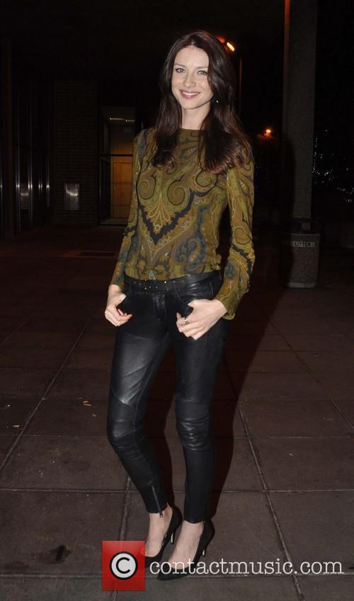 Caitriona Balfe Celebrities outside the RTE studios for...