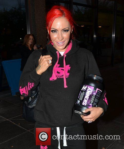 Jodie Marsh Guests on Katherine Lynch's new RTE...