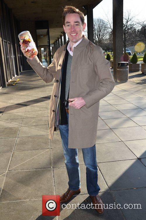Ryan Tubridy Celebrities Outside the RTE Studios Dublin,...