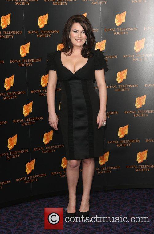 Debbie Rush The RTS Programme Awards 2012- Arrivals...