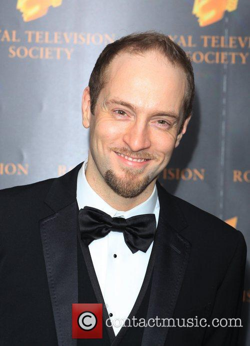 Derren Brown The RTS Programme Awards 2012- Arrivals...