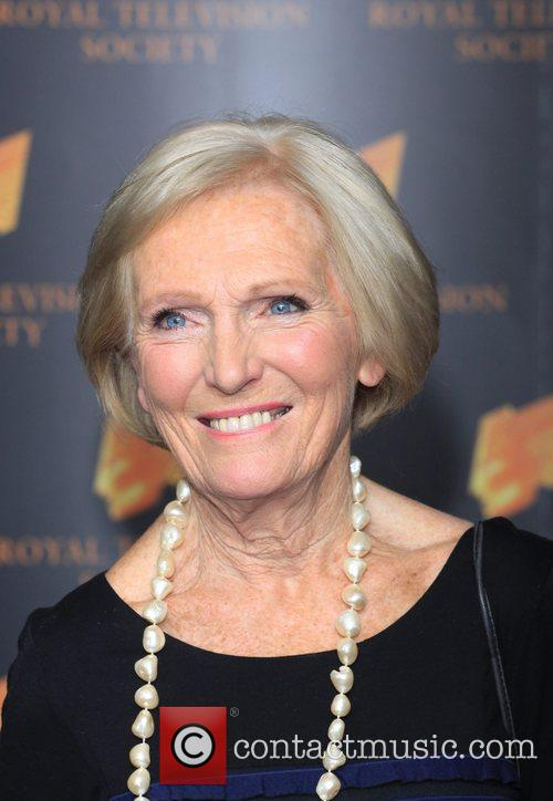 Mary Berry The RTS Programme Awards 2012- Arrivals...