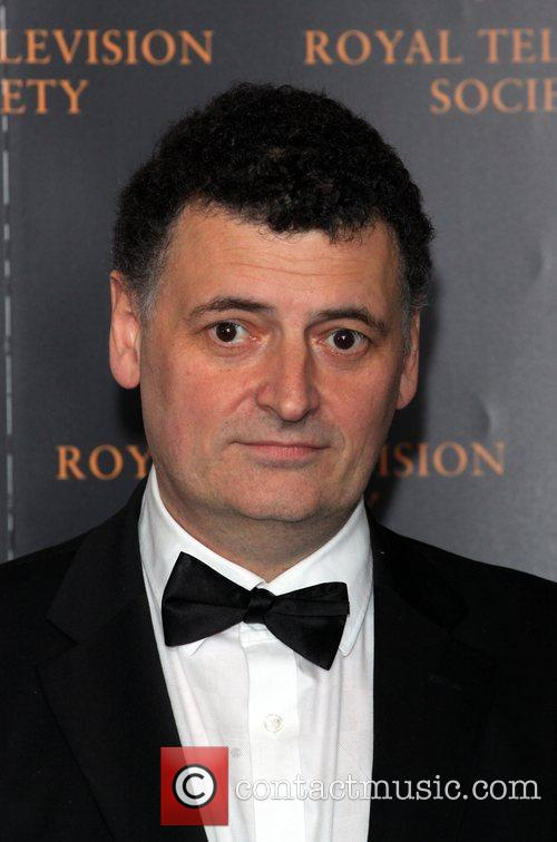 Steven Moffat The RTS Programme Awards 2012- Arrivals...