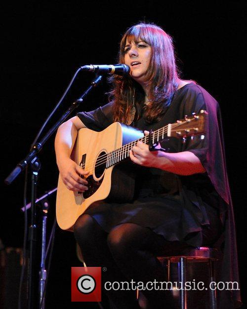 Rumer, aka Sarah Joyce,  performs live on...
