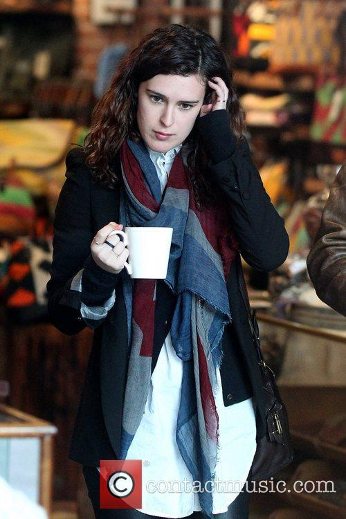 Rumer Willis shopping with her boyfriend at Will...