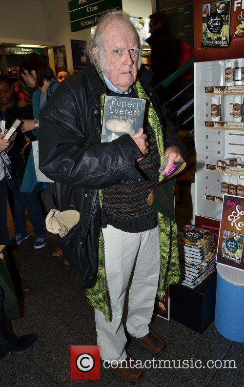 Michael Emmet Walsh Rupert Everett signs copies of...