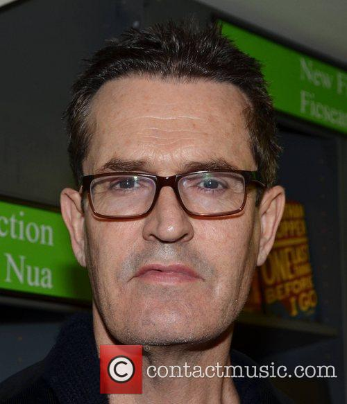 Rupert Everett signs copies of his book entitled...
