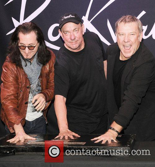 Rock, Rush, L-r, Geddy Lee, Neil Peart and Alex Lifeson 3