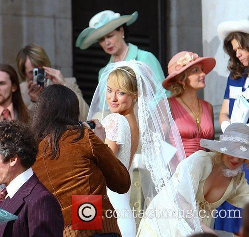 Olivia Wilde Filming takes place for 'Rush', the...