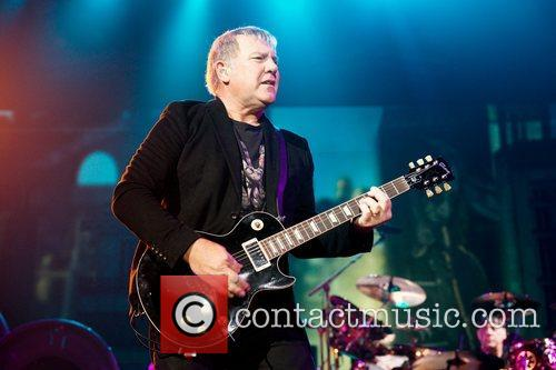 Alex Lifeson, Rush, T Center, San Antonio and Clockwork Angels Tour 10