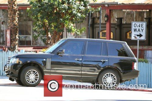Seen driving his Range Rover the wrong way...