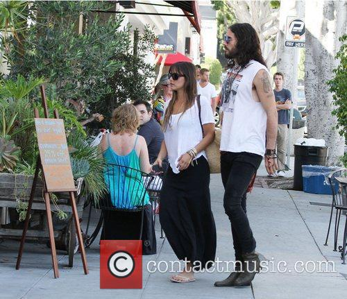 Russell Brand, Dallas and Jordana Brewster 4