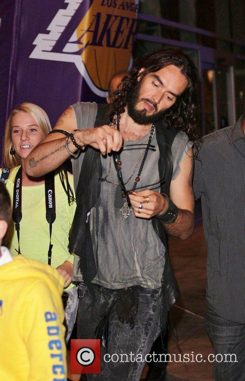 Russell Brand and Staples Center 2
